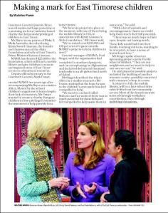 Canberra Times (24 July 2012)