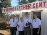 At the Sishemo Leather Centre