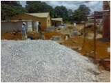 Work commences at Sishemo - January 2011