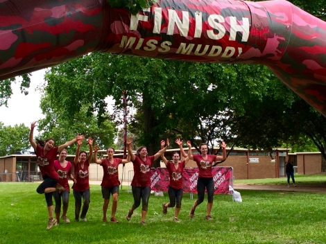 Well done #MuddyMAMAs!